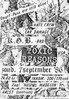 Smurfpunx (Aalst 86, Toxic Reasons)