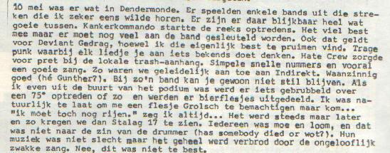 Drol #10 over Dendermonde 10mei86 x