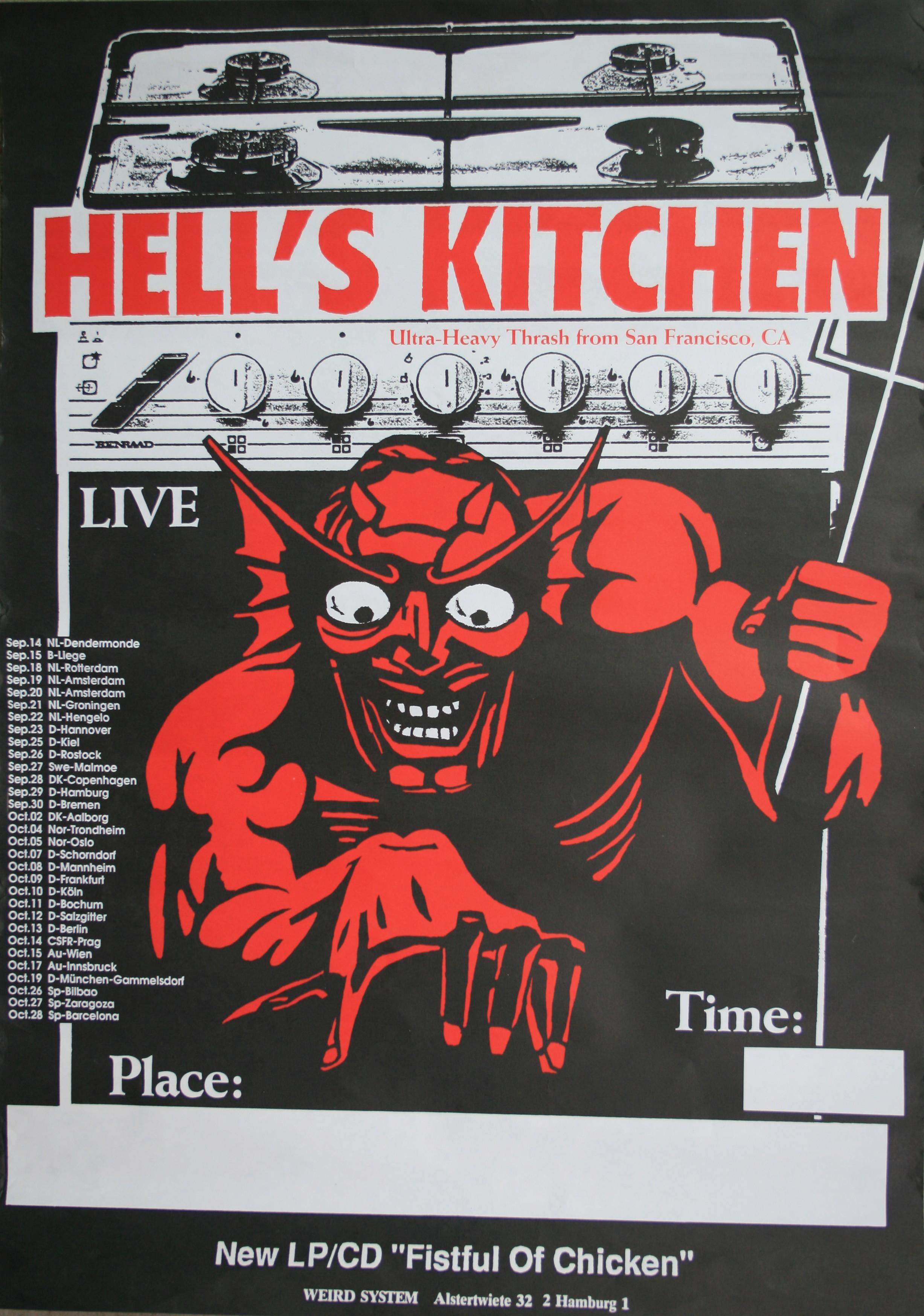 Hell S Kitchen Belgian Guy
