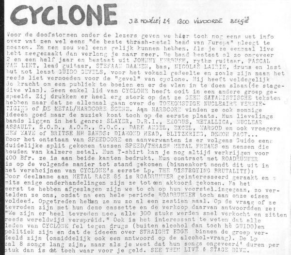 87-11-14 Cyclone (het Schandaal #10)