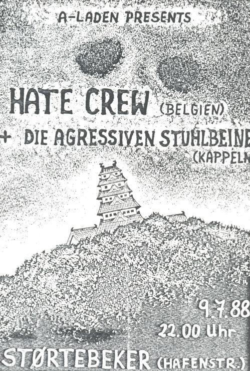 88-07-09 Hate Crew (Hamburg)