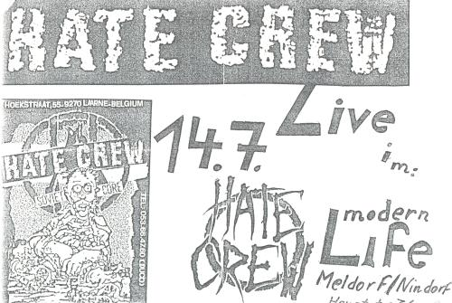 88-07-14 Hate Crew (Nindorf)