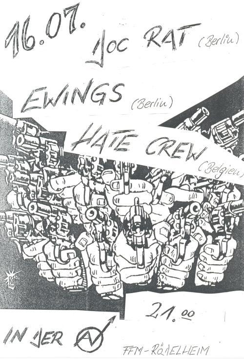 88-07-16 Hate Crew (Frankfurt)