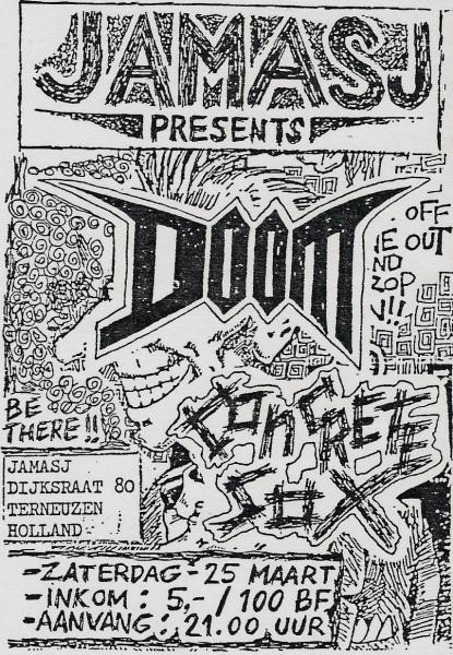 89-03-25 Doom - Concrete Sox (Terneuzen)